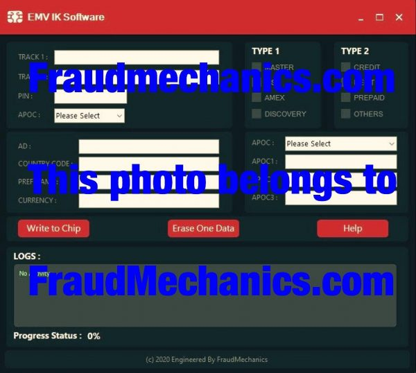 EMV IK Software / Chip Software